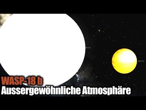Exoplanet WASP-18 b - Aussergewöhnliche Atmosphäre