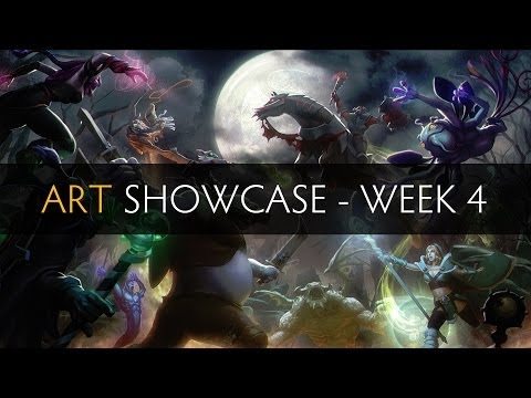 Dota 2 Art Showcase - Week 4