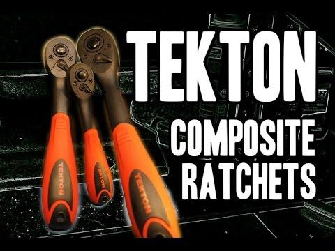 TEKTON Composite Offset Ratchets