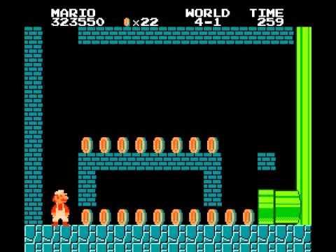 Download Super Mario Bros 1 nes long run no warps many secrets Mp4 baru