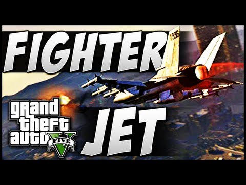 GTA 5   How to Get a FIGHTER JET - EPIC Fails! (Grand Theft Auto V P-996 LAZER Jet Plane)