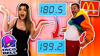 WHO CAN GAIN THE MOST WEIGHT IN 10 MINUTES!!