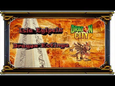 Dragon City - Evento Isla Egipcia - Carved in Stone - Dragon Esfinge
