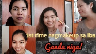MY GO TO MAKE UP LOOK ON SOMEONE'S FACE FEAT  ROMA JANE MAKE UP TUTORIAL
