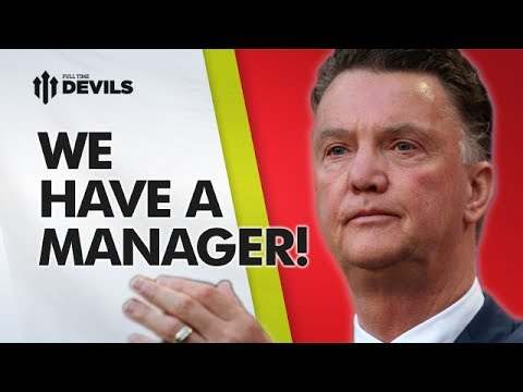 We Have A Manager! | Louis Van Gaal - New Manchester United Boss | REACTION
