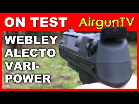 REVIEW: Webley Alecto Air Pistol