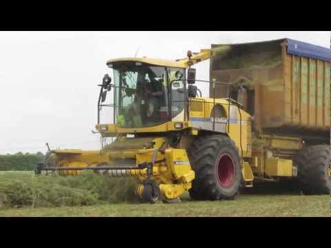 New Holland FX60 + Container Carrier