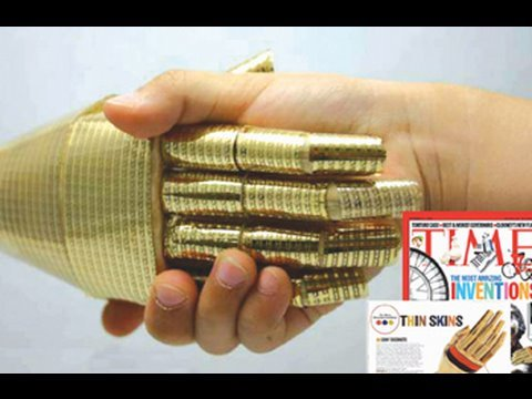 Highly Conductive Film That Can Stretch : DigInfo