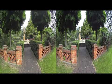 city park Launceston  Action cam  3d 4k video  test