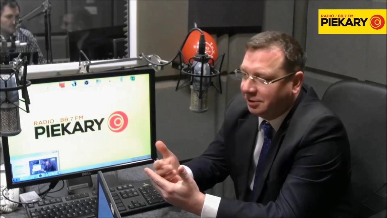 Michał Wójcik gościem Radia Piekary