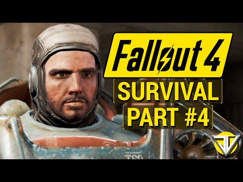 FALLOUT 4: SURVIVAL MODE Let's Play Part 4 - Paladin DANSE DANSE Revolution (PC GameplayWalkthrough)