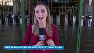 Metroviários de BH descumprem decisão da Justiça de escala mínima durante greve