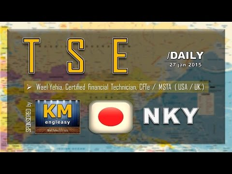 STOCK Market | TSE | NKY | Daily ( 27 Jan 2015 )