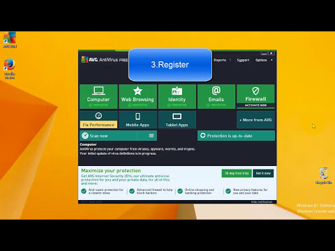 AVG Antivirus Free 2014 Tutorial - How to download, Install and Register