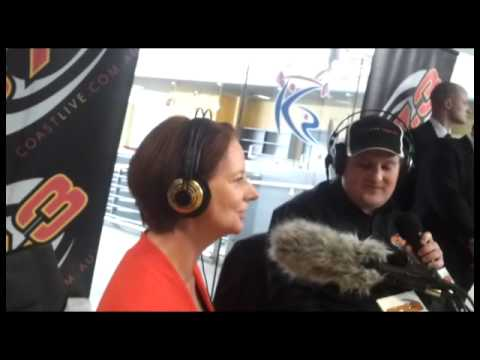Julia Gillard on Coast FM