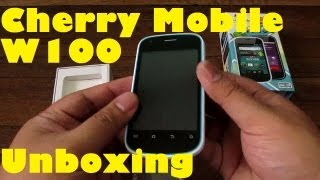 Cherry Mobile W100 Unboxing - Android Phone With 3G & 1Ghz Processor For Only PHP 3,499