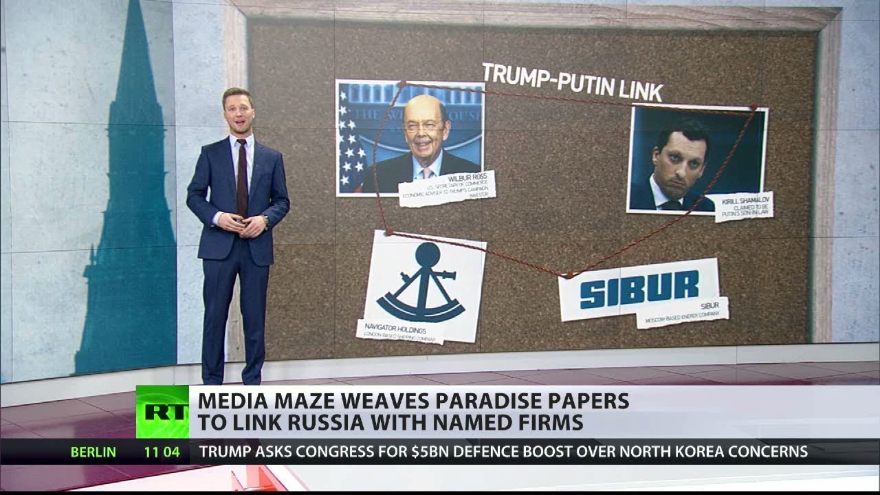 Media tries to link Russia & Wilbur Ross to Paradise Papers