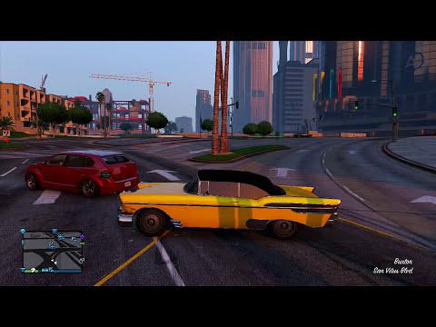GTA 5 PS4 Online New Images Hatchet,New Vehicles,Railgun & More Next Gen (GTA 5 PS4 Gameplay Images)