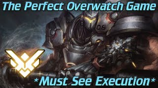 The Perfect Overwatch Game! Flawless Teamwork & Execution! Grandmaster