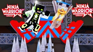 NINJA WARRIOR in MINECRAFT?! - Minecraft [Deutsch/HD]