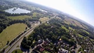 Šenov, Šenovský jarmark 2016 průlet, RunCam2 test, FPV Spy Plane