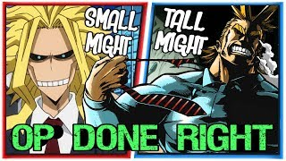 How to Write a Badass Overpowered Mentor - All Might from My Hero Academia