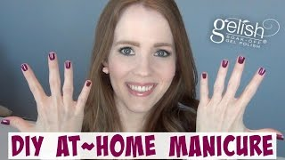 DIY At-Home Gel Manicure | A Busy Mom