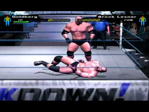 WWE Smackdown Here Comes the Pain gameplay on PC with PCSX2 0.9.9 PS2 emulator HD HQ 720p
