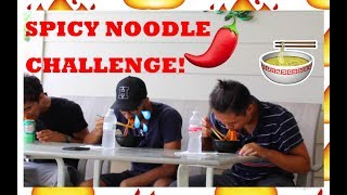 We Attempt The Spicy Noodle Challenge !!!
