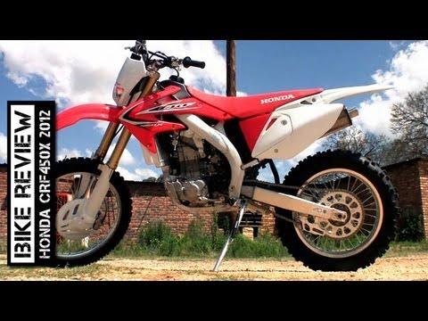 Honda CRF450X 2012 Review