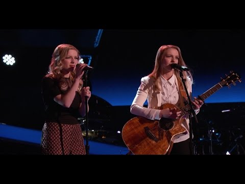Andi and Alex Blind Audition on the Voice