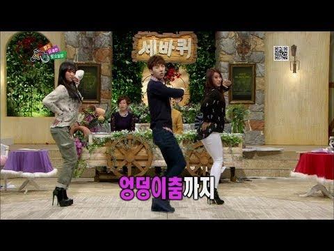 【TVPP】Hyorin, Bora(SISTAR) - 'Alone' with Jo Kwon, 씨스타의 새 멤버(?) 조권과 '나 혼자' @ Three Turns