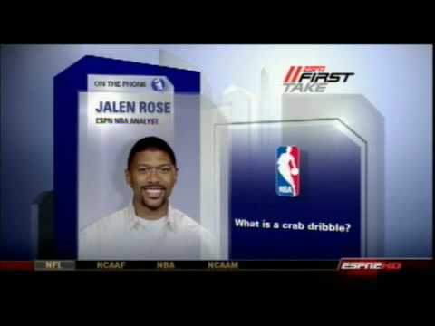 LeBron James Crab Dribble - Jalen Rose Explains on ESPN