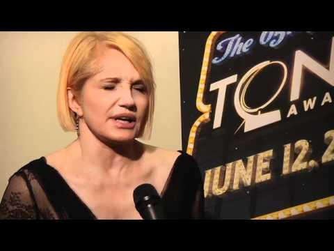 Tony Awards 2011 - Winner's Circle: Ellen Barkin
