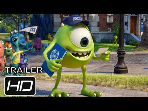 Monsters University - Trailer Final Oficial Español Latino - HD