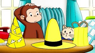 Curious George 🐵The Clean, Perfect Yellow Hat  🐵Kids Cartoon 🐵Kids Movies 🐵Videos for Kids