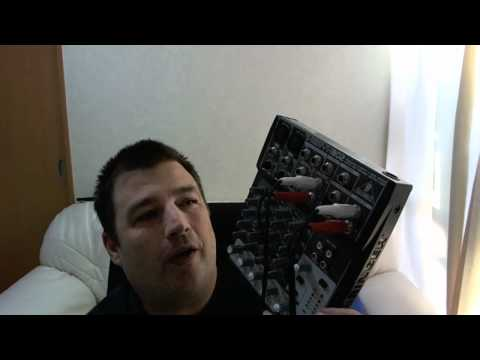 Behringer Xenyx 802 Mixer Setup For Podcasting