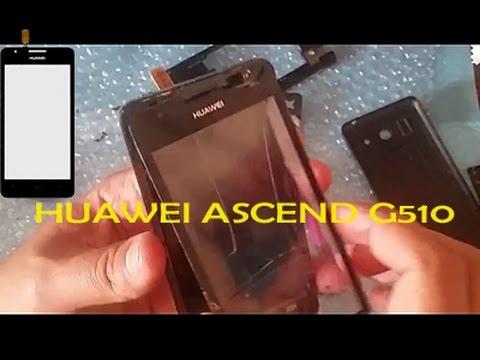 Cambiar cristal táctil de pantalla Huawei Ascen G510