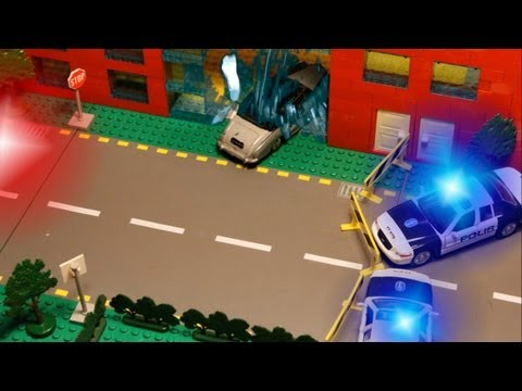 LEGO Stop Motion Car Chase - Back to the Legocago (Part 2/3) (HD 1080p)