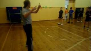 Table Tennis - 2 forehands and how to move (Summer Camp in Rucava)