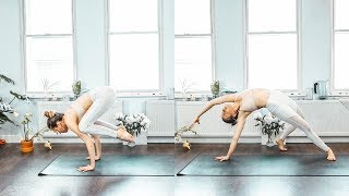 Y46 - Full Body Yoga Flow to Get Lean / Yoga for weight-loss and strength / Silke Dewulf