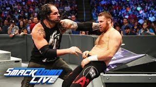 Baron Corbin demolishes Sami Zayn in brutal beatdown: SmackDown LIVE, May 23, 2017