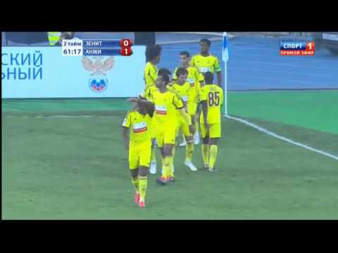 Зенит - Анжи 0-1 Zenit St. Petersburg [0 - 1] Anji Makhachkala