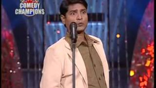 Vinod Kumar in Sahara One Comedy Champions