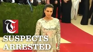 Suspects arrested in connection to Kim Kardashian Robbery