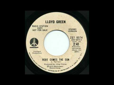 Lloyd Green - Here Comes the Sun