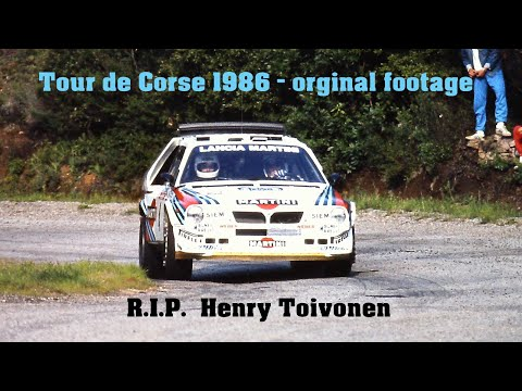 Tour de Corse 1986 new and never seen on TV
