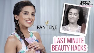 Quick Hair & Skin Care Hacks For Your Last Minute Date Ft. Shalini Samuel | Nykaa