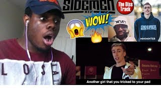 KSI'S LITTLE BROTHER - DEJI DISS TRACK (OFFICIAL MUSIC VIDEO)  REACTION!!!