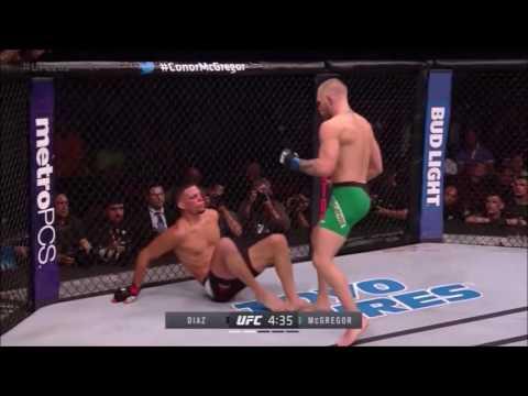 All Knockdowns Conor McGregor VS Nate Diaz [UFC 202]
